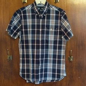 M Tommy Hilfiger SS Woven Button Down